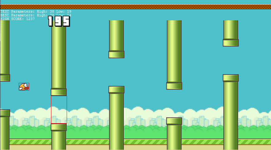 Flappy Bird Screen View